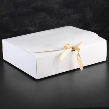 №22 Печенье с предсказаниями, белая коробка, 50 шт.