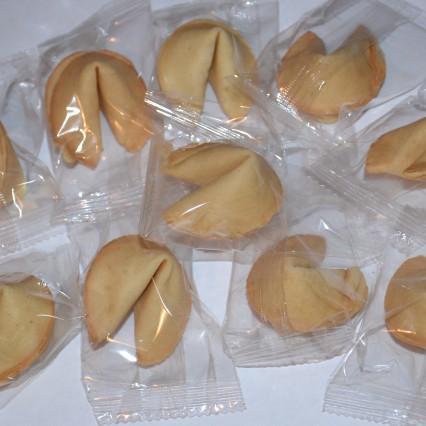 №01 Китайское печенье с предсказаниями,  инд. упак.