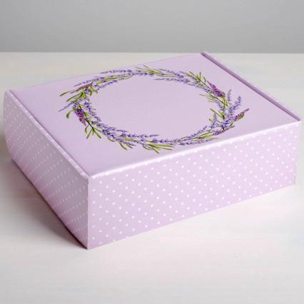 №24 Печенье с предсказаниями, 50 шт. в коробке Лаванда