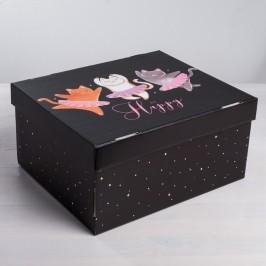№19 Печенье с предсказаниями, 100 шт. в коробке Котики
