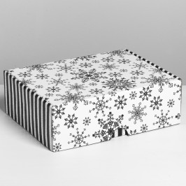 №07 Печенье с предсказаниями, 50 шт. в коробке Снежная