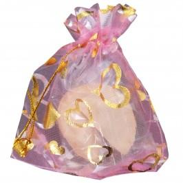 №03 Печенье с предсказаниями, розовый мешочек