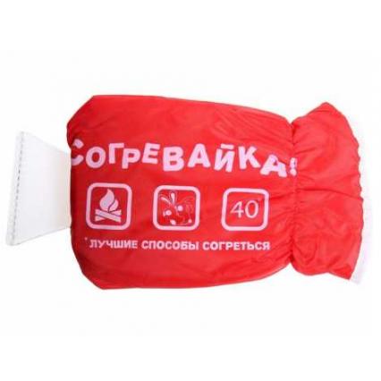 """Скребок автомобильный + варежка """"Согревайка"""""""