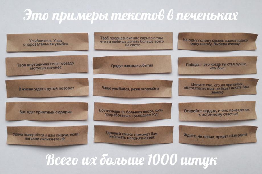 Примеры текстов
